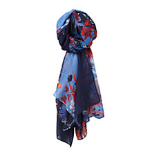 Buy Joules Wensley Scarf, Navy/Multi Online at johnlewis.com