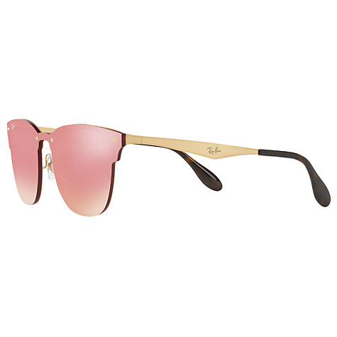 Buy Ray-Ban RB3576N Blaze Clubmaster Square Sunglasses | John Lewis