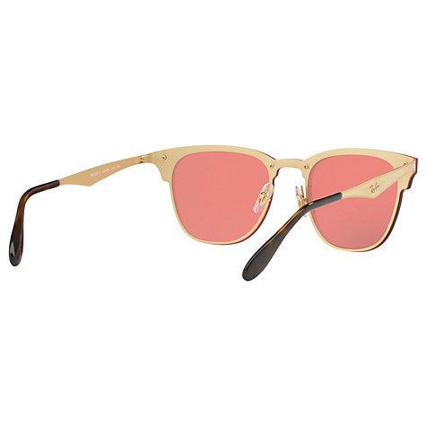 Buy Ray-Ban RB3576N Blaze Clubmaster Square Sunglasses   John Lewis