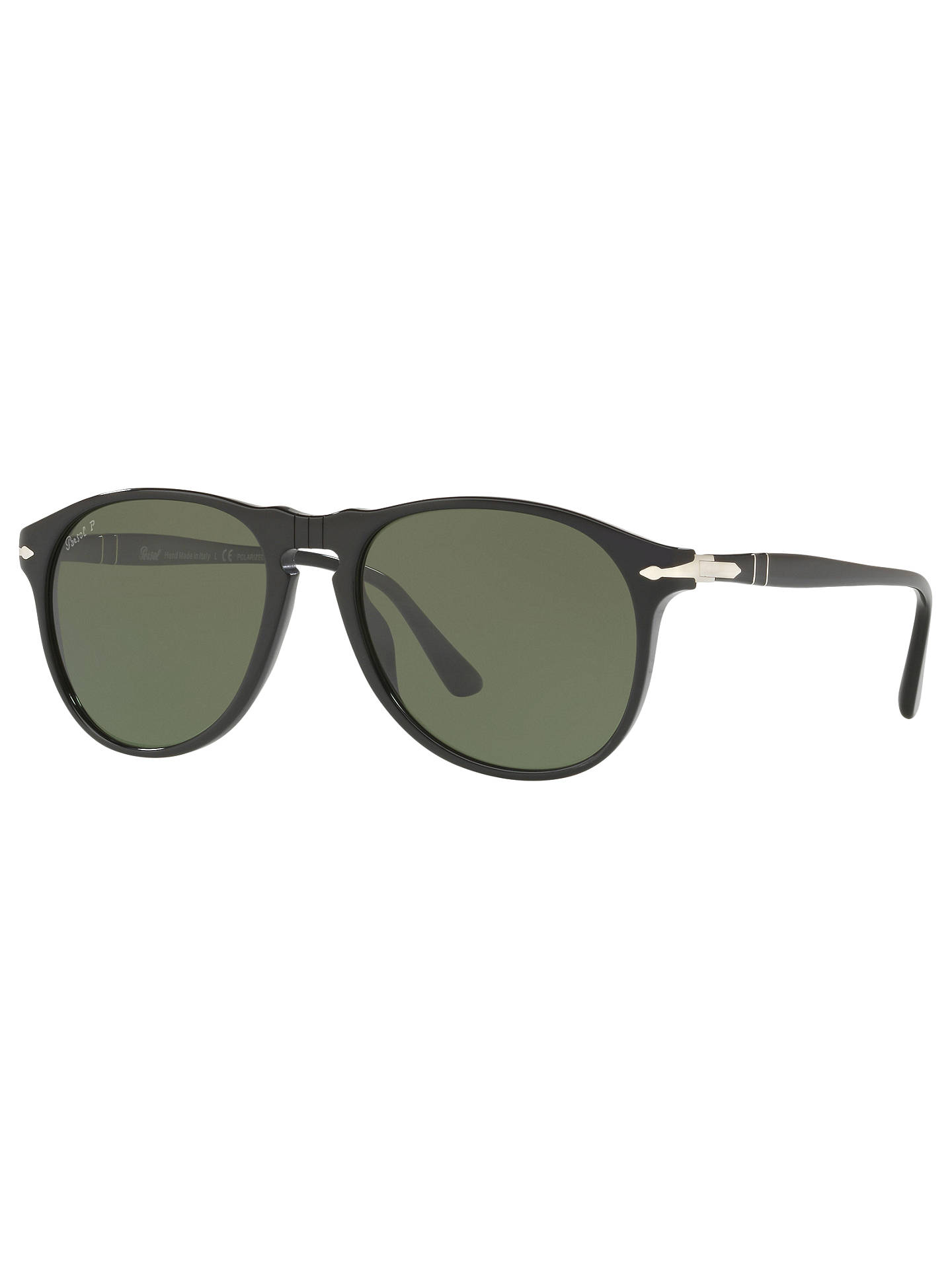 643a2a1b27920 Persol PO6649S Polarised Aviator Sunglasses at John Lewis   Partners