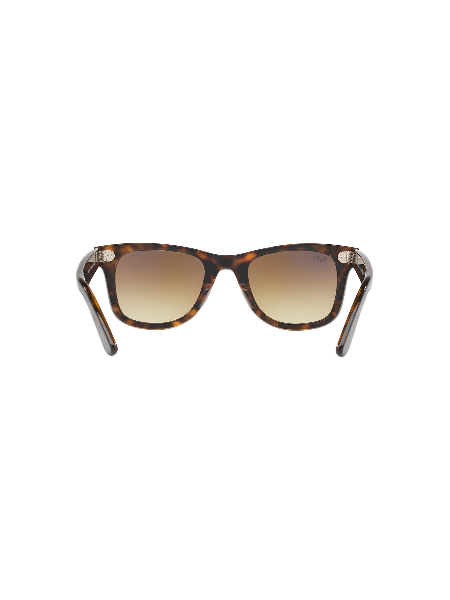 BuyRay-Ban RB4340 Wayfarer Sunglasses, Tortoise/Brown Gradient Online at johnlewis.com