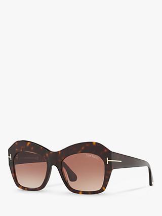 01a8452d63f26 TOM FORD TF0534 Emmanuelle Pentagonal Sunglasses