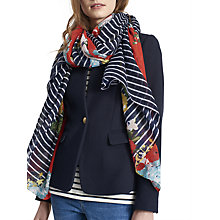 Buy Joules Harmony Floral Scarf, Multi Online at johnlewis.com