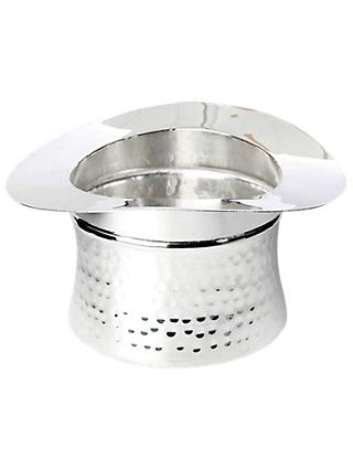 Culinary Concepts Top Hat Nibbles Bowl, Silver