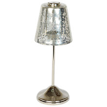 Buy Culinary Concepts Smoked Glass Tea Light Holder Small Lamp Online at johnlewis.com