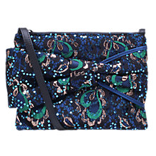 Buy KG by Kurt Geiger Jessie Pouch Clutch Bag, Navy Online at johnlewis.com