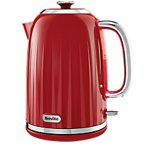 Buy Breville Impressions 1.7L Jug Kettle, Red Online at johnlewis.com