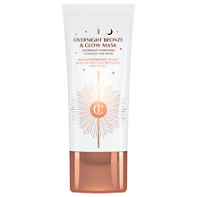 Buy Charlotte Tilbury Overnight Bronze & Glow Mask, 50ml Online at johnlewis.com