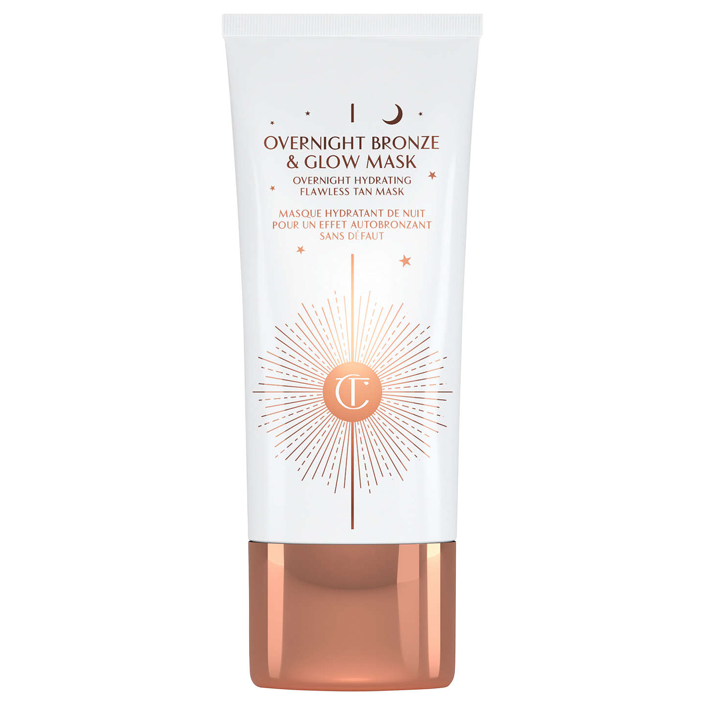 BuyCharlotte Tilbury Overnight Bronze & Glow Mask, 50ml Online at johnlewis.com