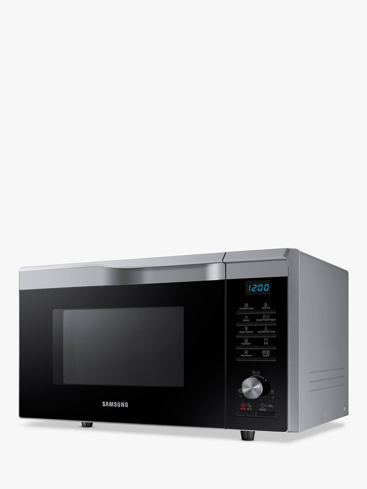 BuySamsung Easy View™ MC28M6075CS/EU Combination Microwave Oven, Silver Online at johnlewis.com