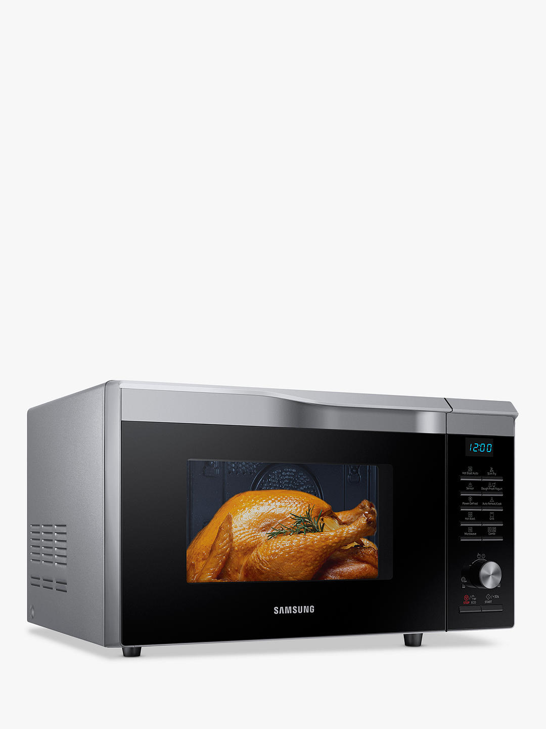Buy Samsung Easy View™ MC28M6075CS/EU Combination Microwave Oven, Silver Online at johnlewis.com