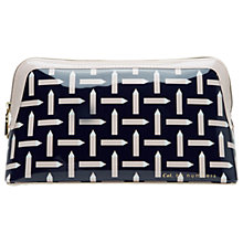 Buy Ted Baker Colour By Numbers Marble Wash Bag, Navy Online at johnlewis.com