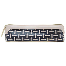 Buy Ted Baker Colour By Numbers Oktibe Pencil Case, Navy Online at johnlewis.com