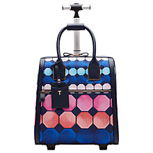 Buy Ted Baker Mahala Marina Mosaic Travel Bag, Navy Online at johnlewis.com