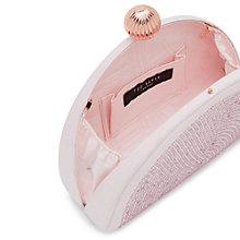 Buy Ted Baker Jezebel Crystal Embellished Clutch Bag, Light Pink Online at