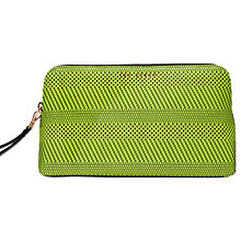 Buy Ted Baker Colour By Numbers Janei Wash Bag, Mid Green Online at johnlewis.com