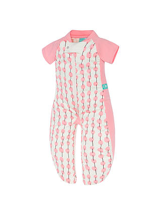 Buy ergoPouch Baby Cherry Sleepsuit, Pink, 1 Tog, Pink, 2-12 months Online at johnlewis.com