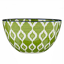 Buy John Lewis Fusion Ikat Bowl, Dia.12.6cm Online at johnlewis.com