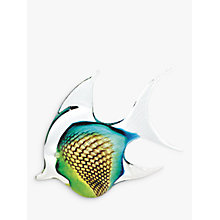 Buy Svaja Annie Angel Fish Ornament, Green Online at johnlewis.com