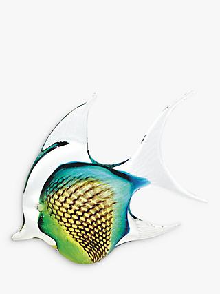 Svaja Annie Angel Fish Ornament, Green