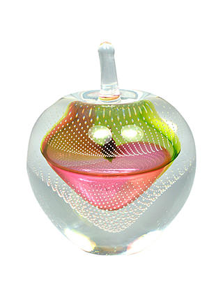 Buy Svaja Forbidden Fruit Bubbles Glass Ornament, Red/Gold, Small Online at johnlewis.com