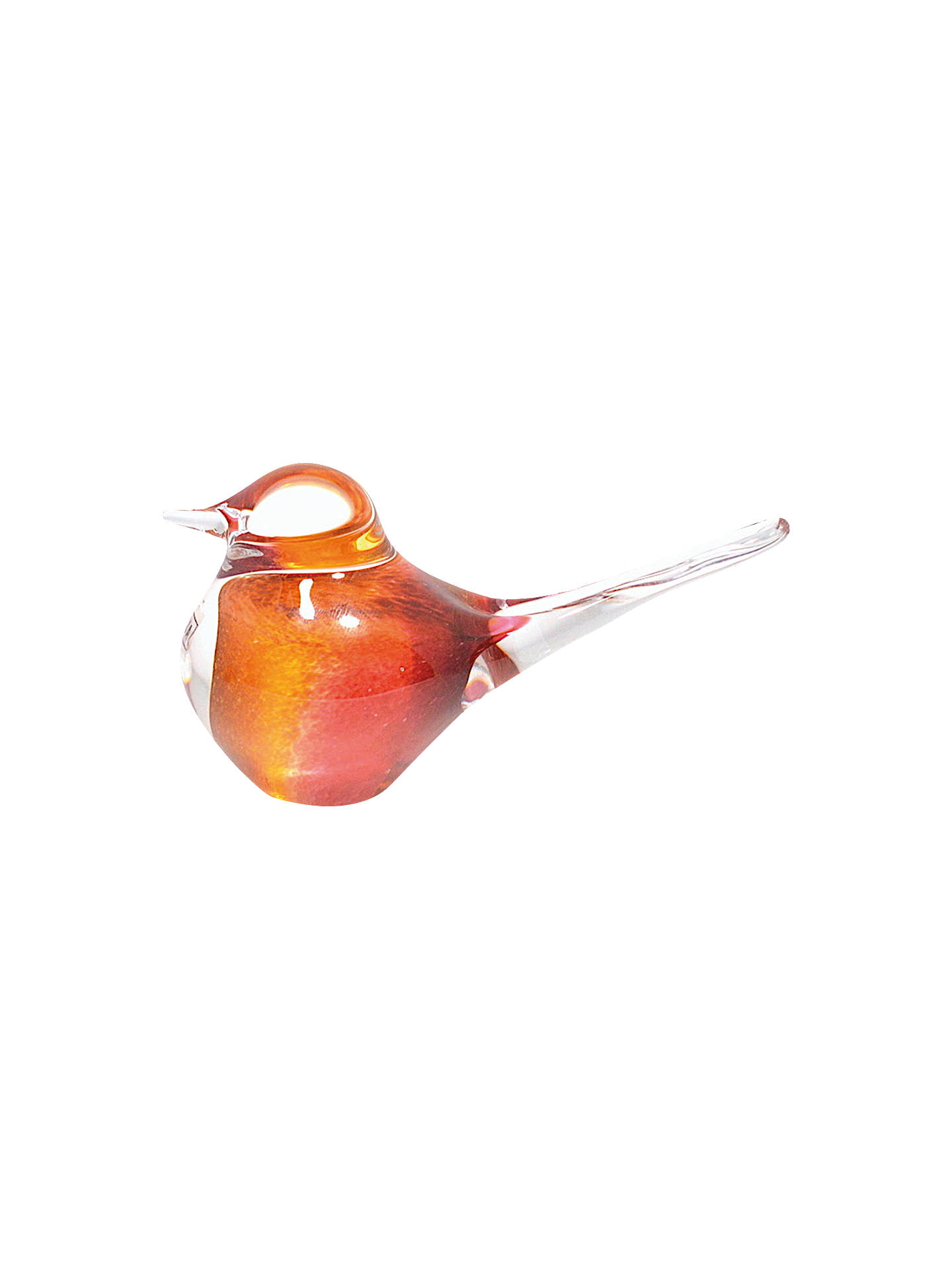 Buy Svaja Basil Bird Ornament, Cherry Amber Online at johnlewis.com