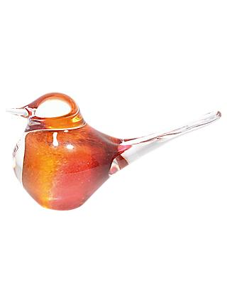 Svaja Basil Bird Ornament, Cherry Amber