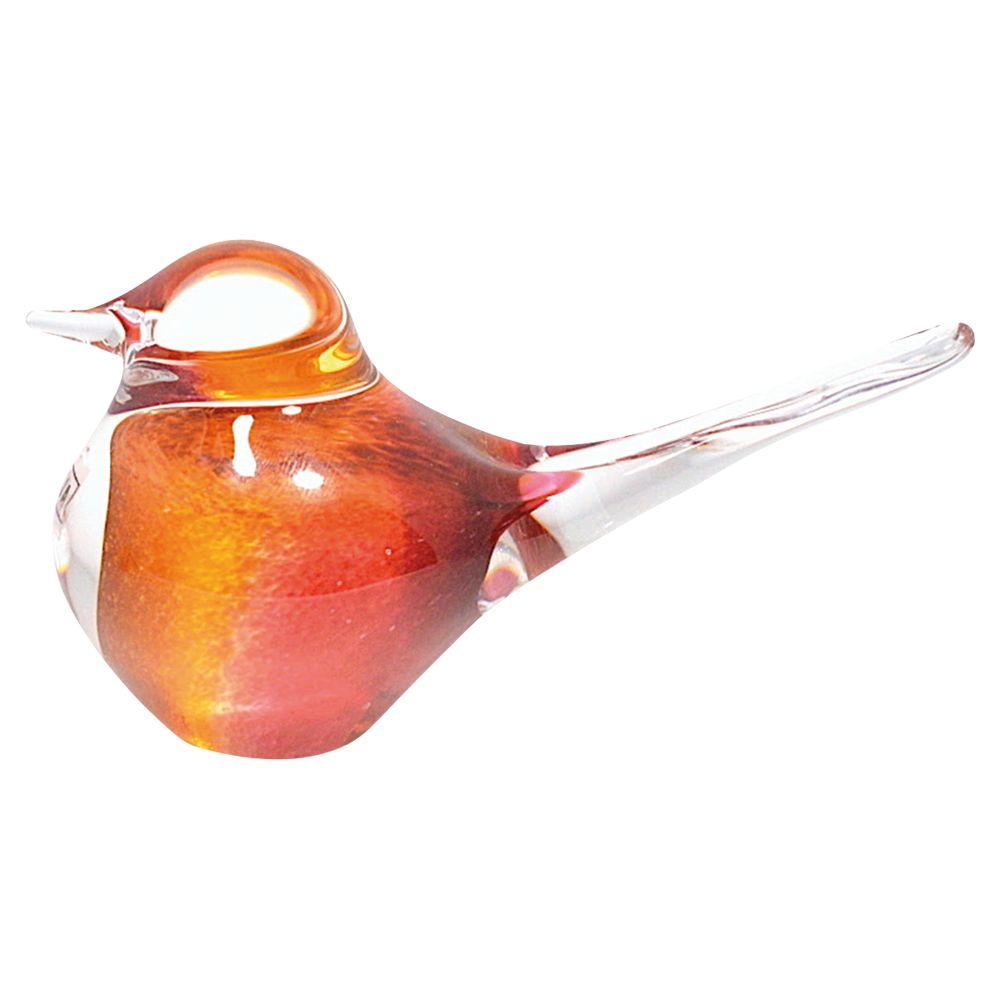 Svaja Svaja Basil Bird Ornament, Cherry Amber