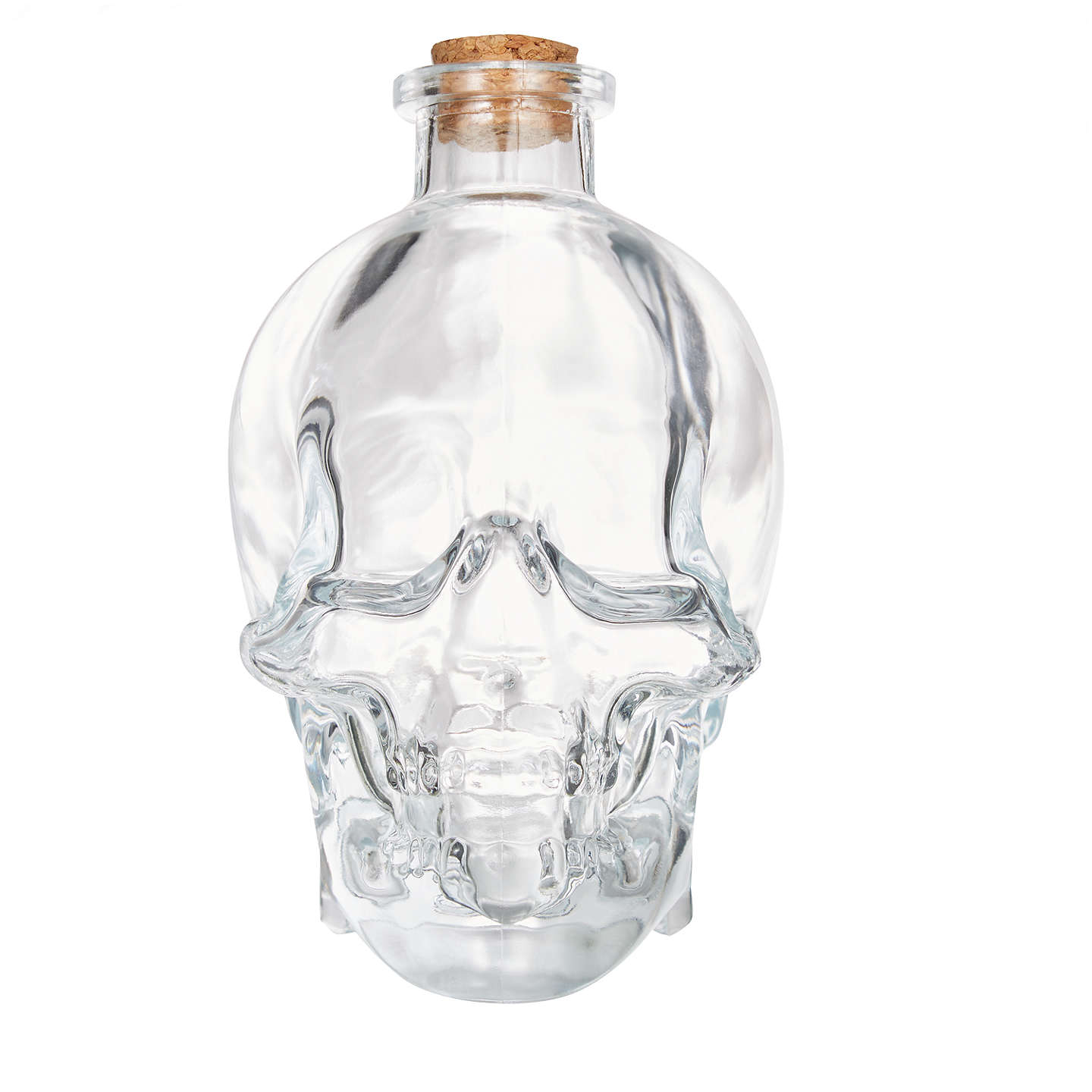 BuyJohn Lewis Large Halloween Glass Skull With Cork Online at johnlewis.com