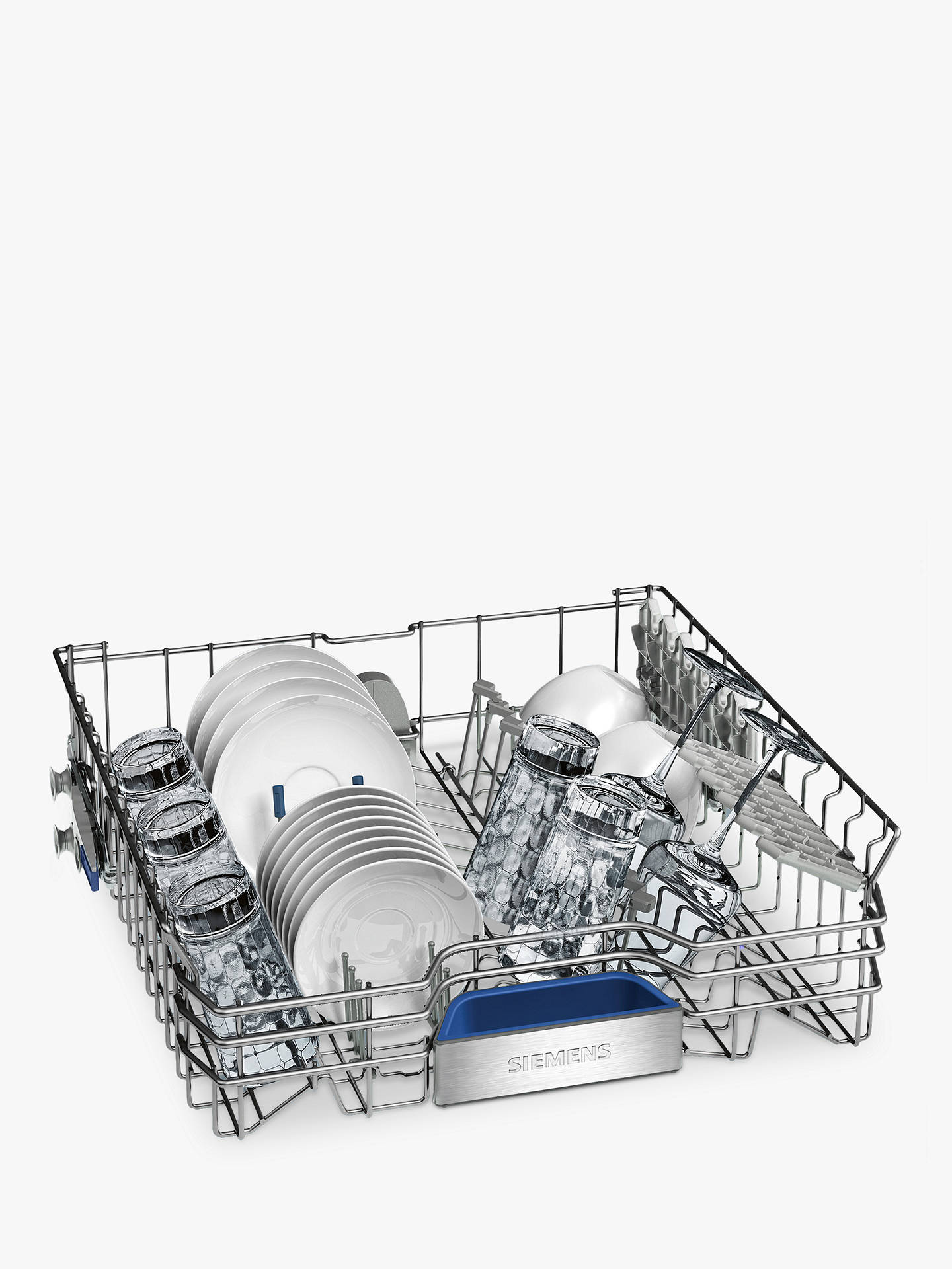 Buy Siemens SN278I36TE Freestanding Dishwasher with Home Connect, Stainless Steel Online at johnlewis.com