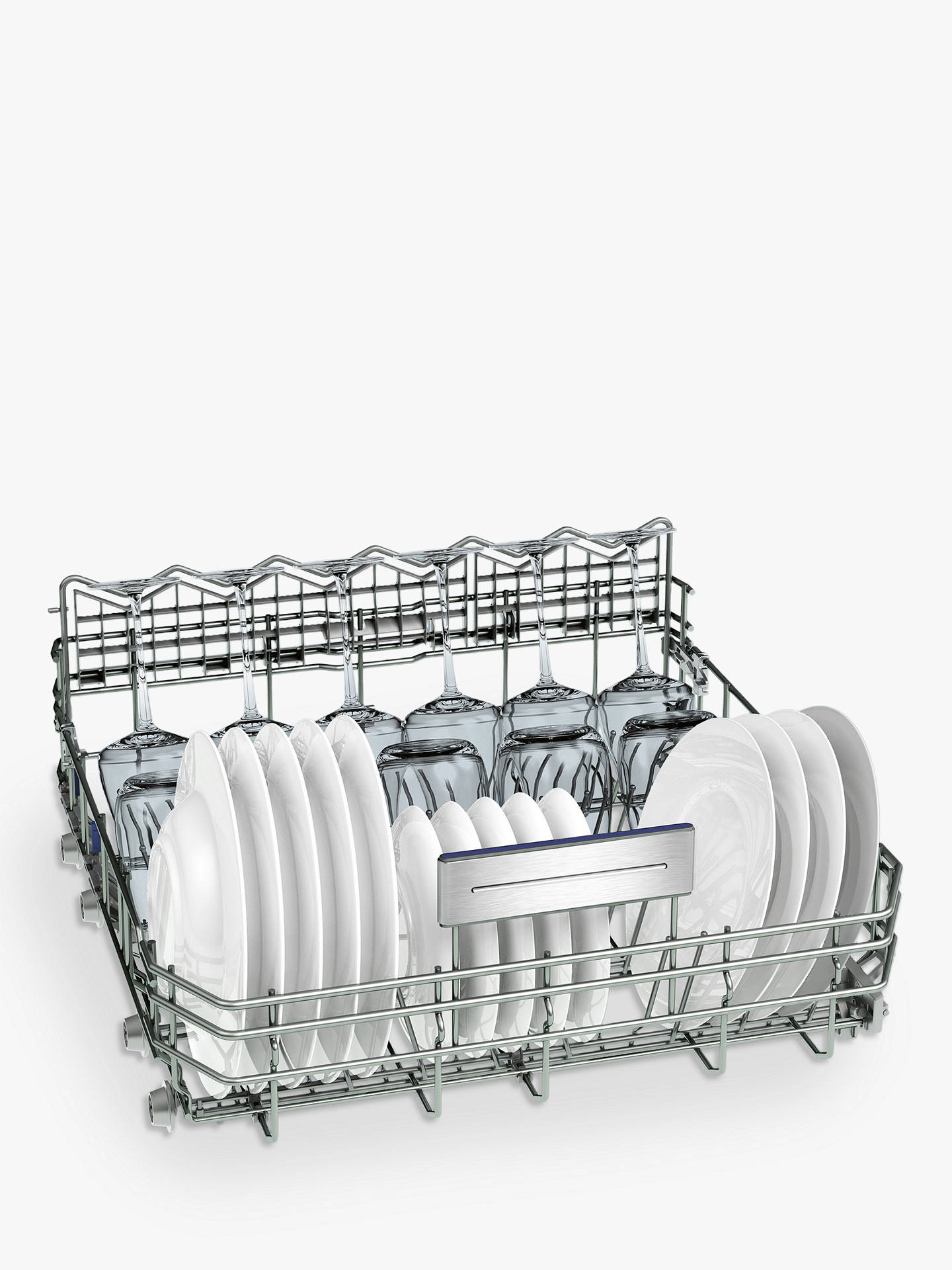 BuySiemens SN278I36TE Freestanding Dishwasher with Home Connect, Stainless Steel Online at johnlewis.com