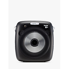 Buy Fujifilm Instax SQUARE SQ10 Digital Instant Camera, Black Online at johnlewis.com