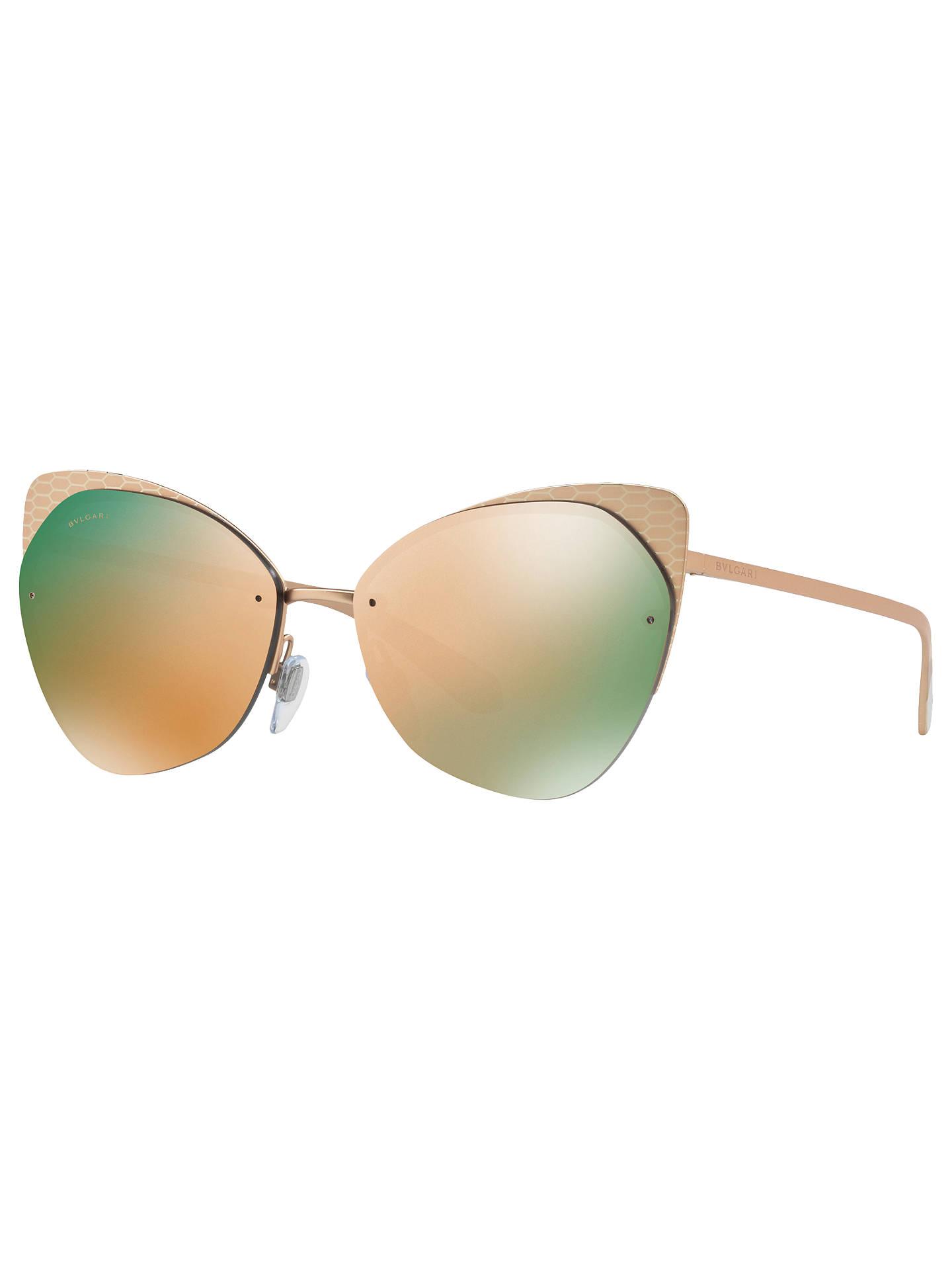5a45d003f63 BVLGARI BV6096 Cat s Eye Sunglasses at John Lewis   Partners