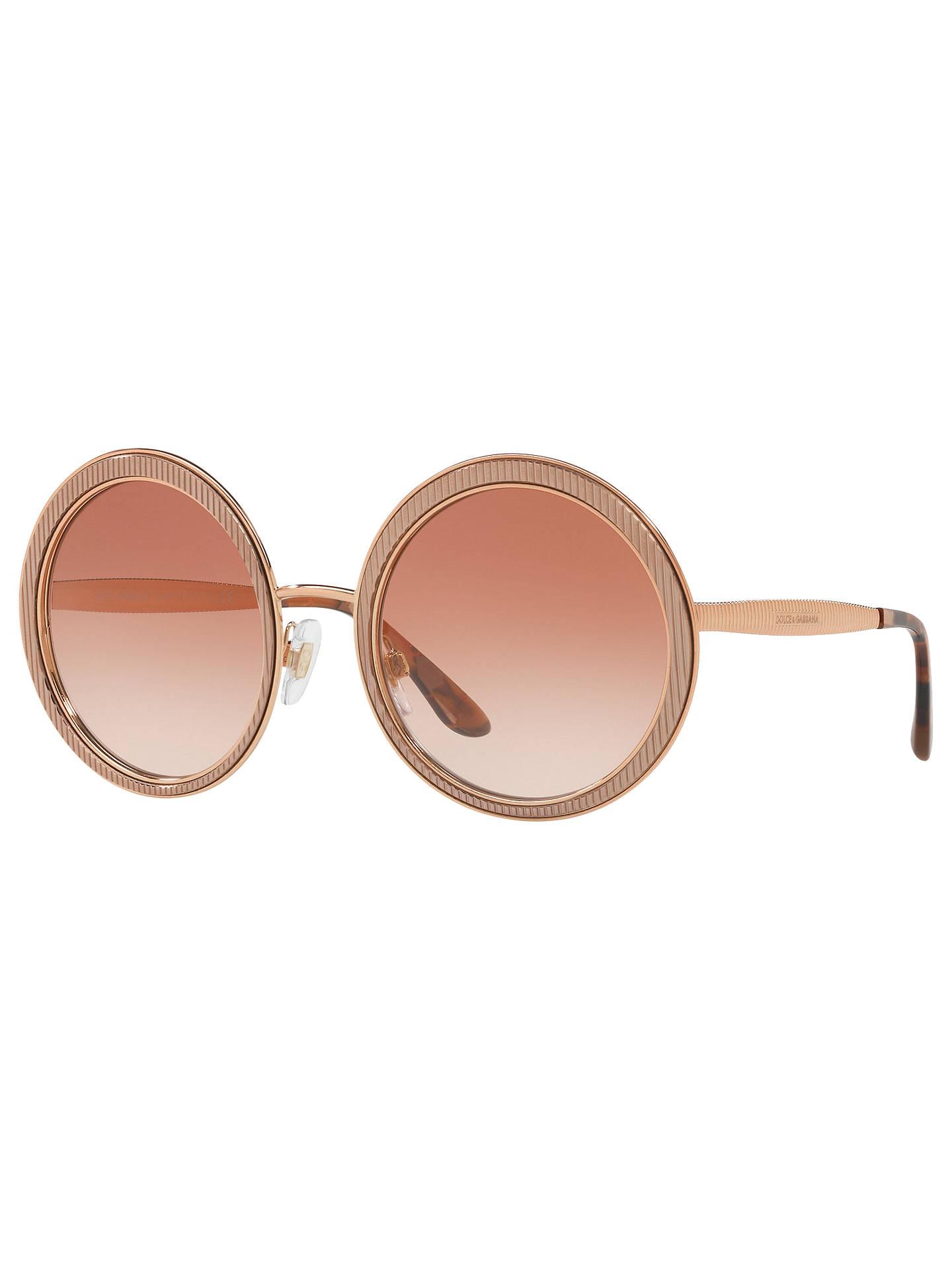 6c45f7ce1c15 Dolce   Gabbana DG2179 Women s Textured Round Sunglasses at John ...