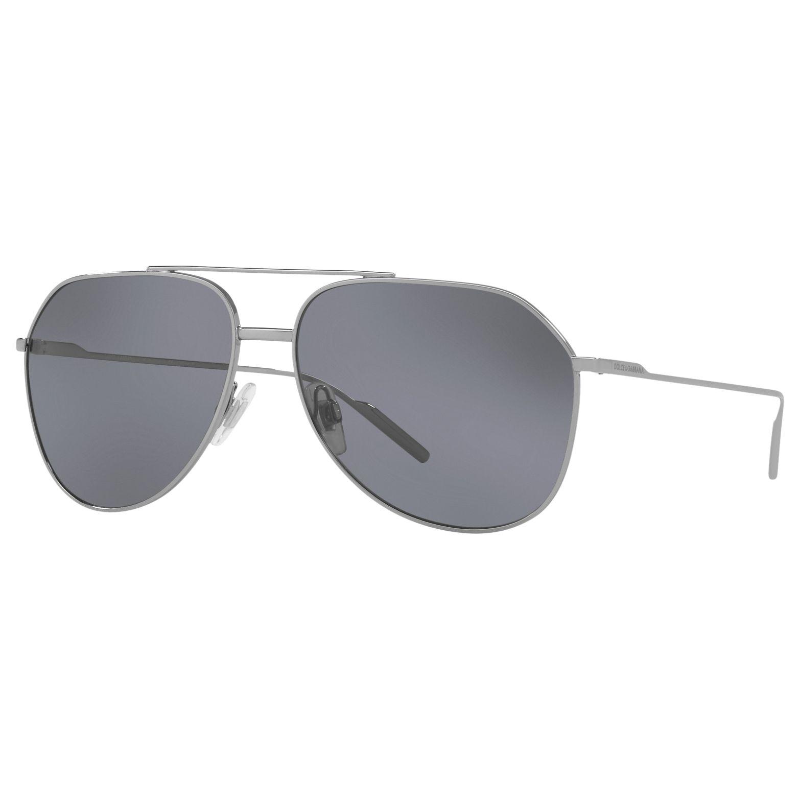 Dolce & Gabbana Dolce & Gabbana DG2166 Polarised Aviator Sunglasses
