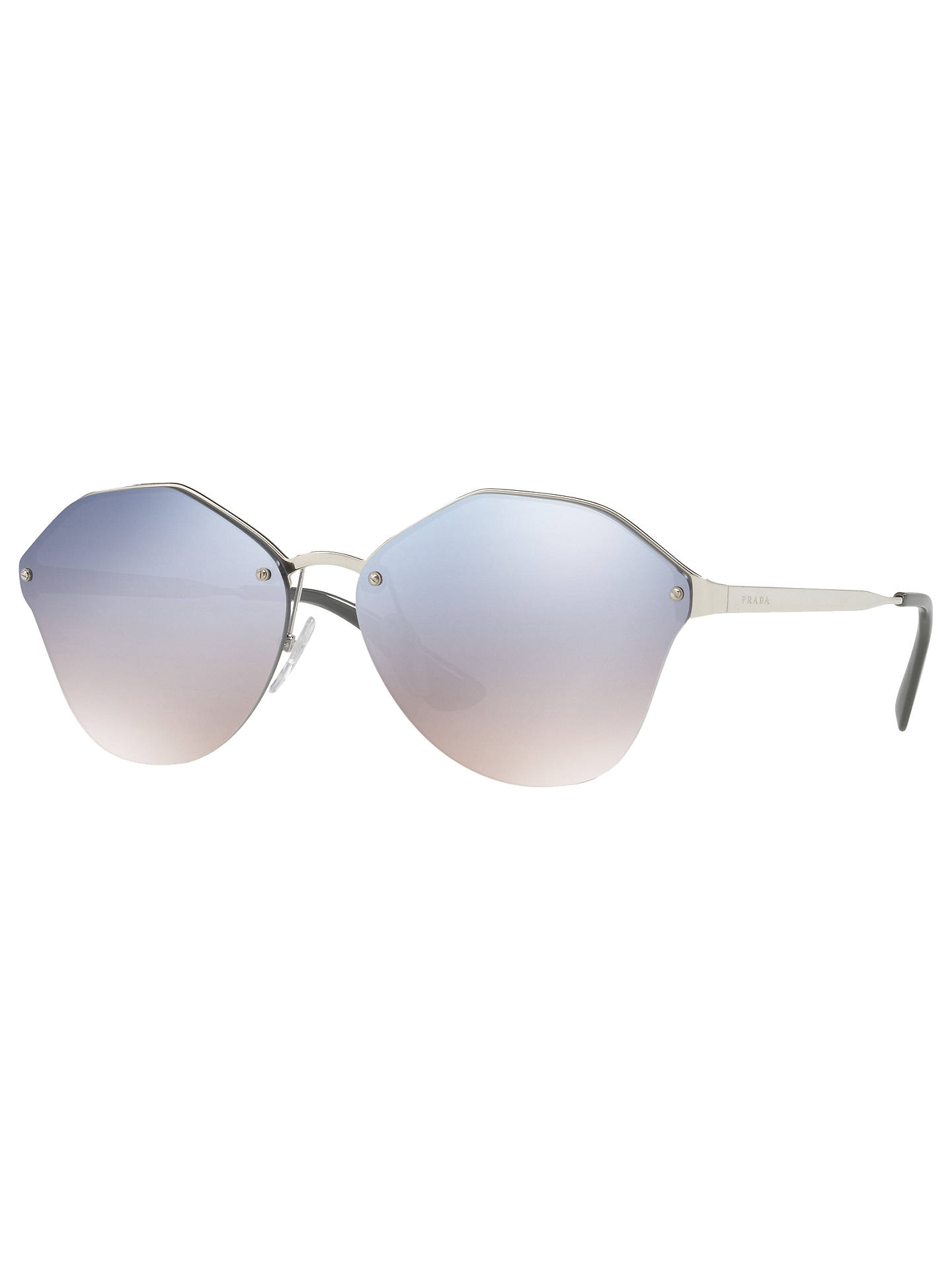 93eea2c9d3 Prada PR 64TS Oval Sunglasses at John Lewis   Partners