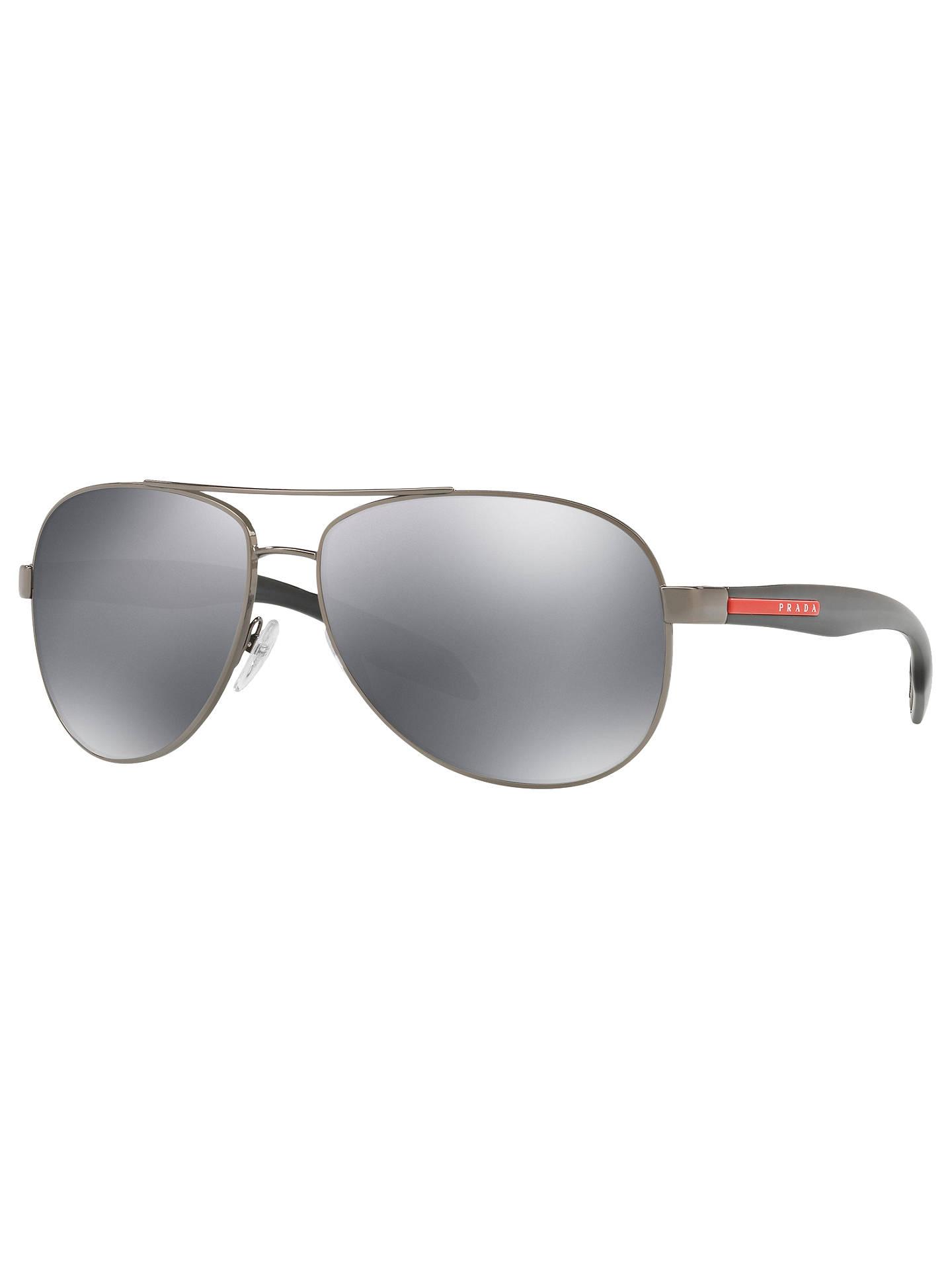 9034e55fef8 Buy Prada Linea Rossa PS 53PS Aviator Sunglasses
