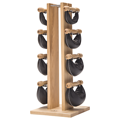 NOHrD by WaterRower Swing Bell Weights Tower Set, Ash