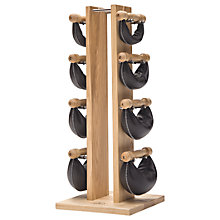 Buy NOHrD by WaterRower Swing Bell Weights Tower Set, Ash Online at johnlewis.com