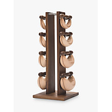 Buy NOHrD by WaterRower Swing Bell Weights Tower Set, Walnut Online at johnlewis.com