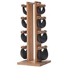 Buy NOHrD by WaterRower Swing Bell Weights Tower Set, Oak Online at johnlewis.com