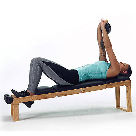 Buy NOHrD by WaterRower Bench, Oak Online at johnlewis.com