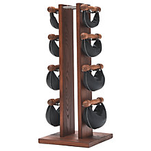Buy NOHrD by WaterRower Swing Bell Weights Tower Set, Rosewood Online at johnlewis.com