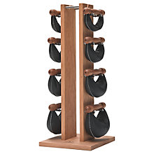 Buy NOHrD by WaterRower Swing Bell Weights Tower Set, Cherry Online at johnlewis.com