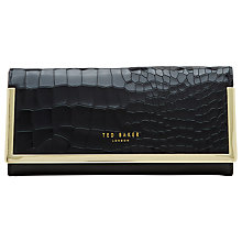 Buy Ted Baker Collene Leather Matinee Purse Online at johnlewis.com