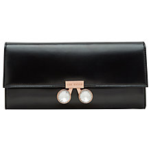 Buy Ted Baker Eleni Leather Crystal Bobble Purse Online at johnlewis.com