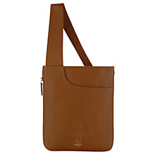 Buy Radley Pocket Leather Medium Across Body Bag, Tan Online at johnlewis.com