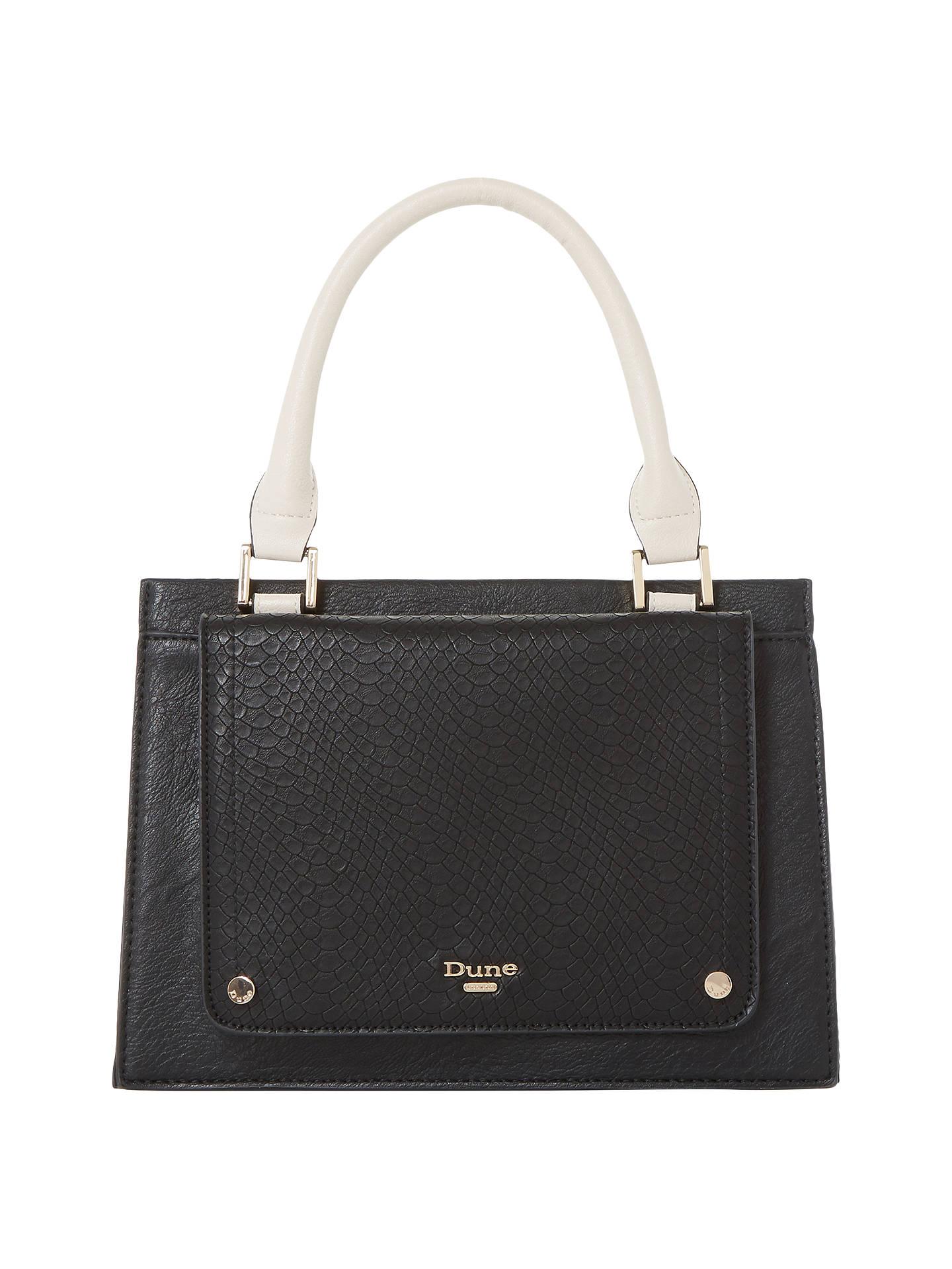 Dune Dinidophie Mini Grab Bag Black Online At Johnlewis
