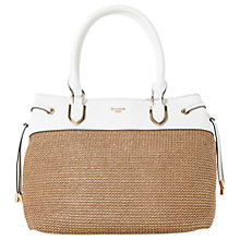 Buy Dune Daitlyn Raffia Large Grab Bag, Natural Online at johnlewis.com