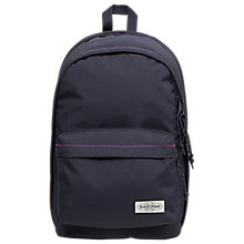 Buy Eastpak Back to Work Backpack, Navy Stitched Online at johnlewis.com
